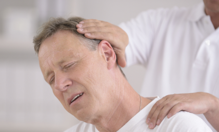 a neck pain doctor